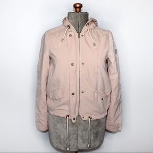 🎀3/$30 ONLY Blush Light Pink Zip Up Jacket